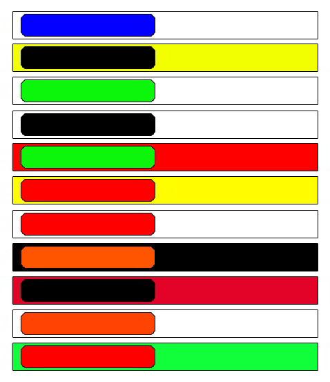 цветовая гамма для баннеров